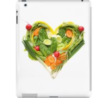Heart of vegetables! SALE! iPad Case/Skin