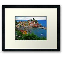 View from the trail Framed Print