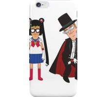 Tina Moon and Buttedo Mask iPhone Case/Skin