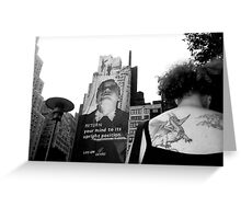 The Wizard and the Dragon NYC Greeting Card
