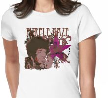 PURPLE HAZE Womens Fitted T-Shirt