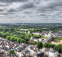 Chinon, France #3 by Elaine Teague