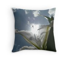 Sun Lilly Throw Pillow