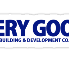Very Good Building & Development Co. Sticker