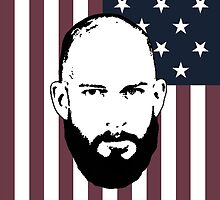 Tim Howard Safe Hands Flag by aketton