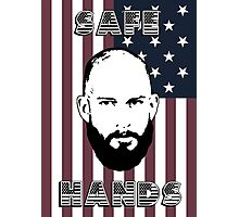 Tim Howard Safe Hands Flag Photographic Print