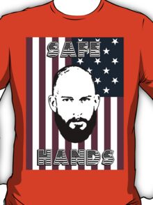 Tim Howard Safe Hands Flag T-Shirt