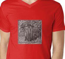 In The Garden Of Loving Couples Mens V-Neck T-Shirt