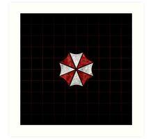 Resident Evil Umbrella Corporation Art Print