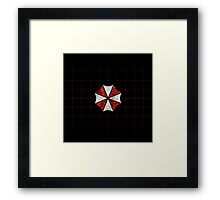 Resident Evil Umbrella Corporation Framed Print