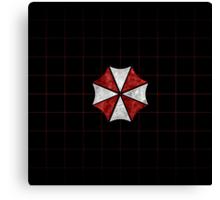 Resident Evil Umbrella Corporation Canvas Print