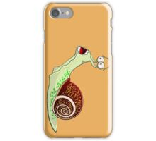 Scared Snail iPhone Case/Skin