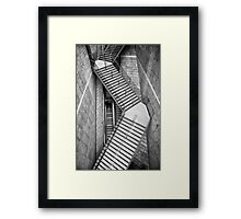 Liverpool 1 Staircase Framed Print