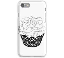 Rose Cupcake iPhone Case/Skin