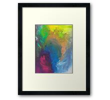 Bright Abstract Framed Print