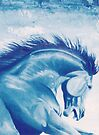 The Blue Cheval by louisegreen