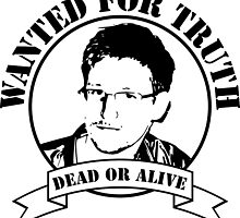 Wanted for truth - dead or alive by dynamitfrosch