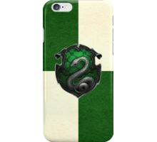 Slytherin Grunge iPhone Case/Skin