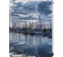 Sailboat Summer Impressions iPad Case/Skin