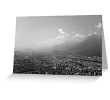 Grenoble France Greeting Card