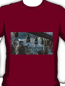 Lamps on a commercial fishing boat T-Shirt