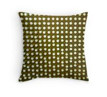 Circles background Throw Pillow