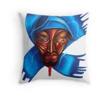 Paths of Rhythm and Groove Throw Pillow