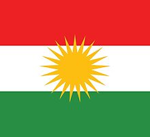 kurdistan flag by tony4urban