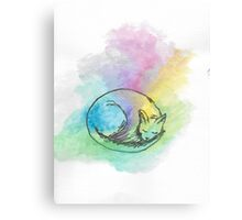 Watercolour Cat #3 Canvas Print