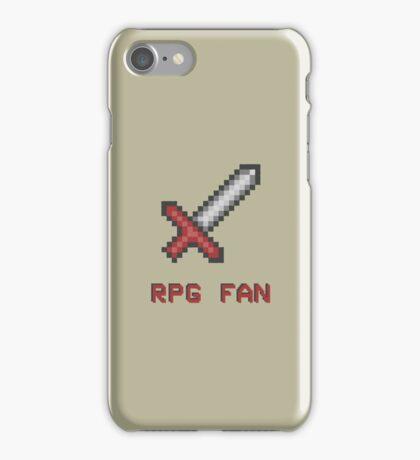 RPG FAN Sword iPhone Case/Skin