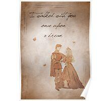 Sleeping Beauty inspired valentine. Poster