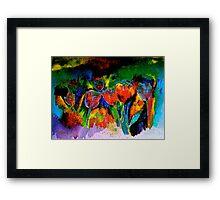Tulip Symphony Framed Print
