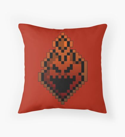 Game Fire Throw Pillow