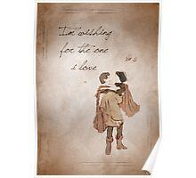 Snow White inspired valentine. Poster