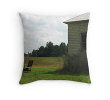 Florence's Chair Throw Pillow