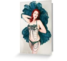 Ruby Riot Greeting Card