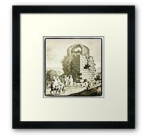 Ancient Bethlehem 19th Century Capture Framed Print