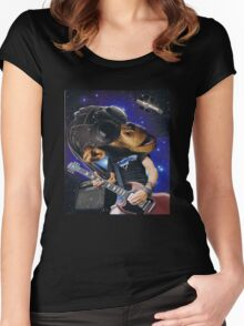 Chimp Zappa Women's Fitted Scoop T-Shirt