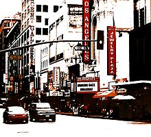 On Broadway (Los Angeles) by Bryan W. Cole