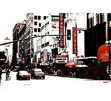 On Broadway (Los Angeles) Photographic Print