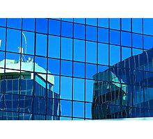 windows on windows reflection Photographic Print