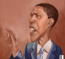 Obama by flydesign