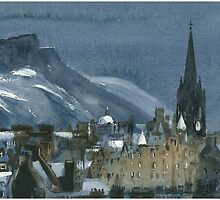 Edinburgh Winter 1 by Ross Macintyre
