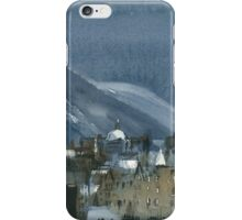Edinburgh Winter 1 iPhone Case/Skin