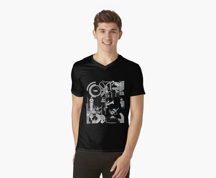 cpchip2 computer chip tshirt design by acid