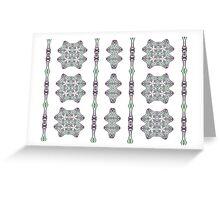 Art nouveau - pattern I Greeting Card