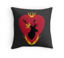 Stannis Baratheon's banner Throw Pillow