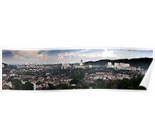 Cityscape of Penang Malaysia Poster