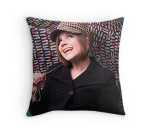 Sixties revisited Throw Pillow