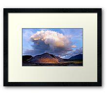 Yasur Volcano Framed Print